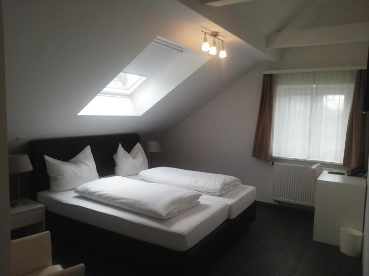 Doppelzimmer des Gasthofs Poelt in Feldafing